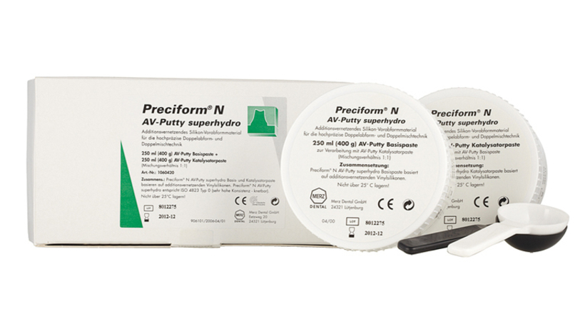 Preciform<sup>&reg;</sup> N AV-Putty superhydro